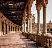 Couloir de Plaza de Espana, Espagne Photographie stock