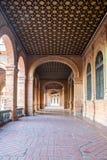Couloir de plaza séville d'espana Photos stock