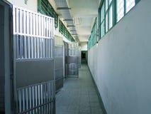 Couloir de prison de prison en Jing-Mei Human Rights Memorial et Cultu Photos stock