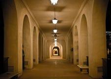 Couloir de stationnement de balboa Image stock