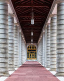 Couloir des piliers Photographie stock libre de droits