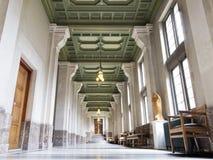 Couloir du palais de paix Image stock