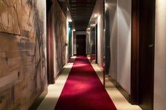 Couloir du `s d'hôtel Image libre de droits
