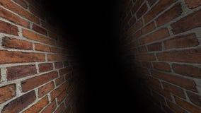 Couloir effrayant Sombre et sombre, plein des mystères, le couloir 42 illustration stock