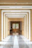 Couloir et décorations Photo stock