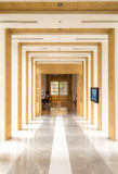 Couloir et décorations Photos stock