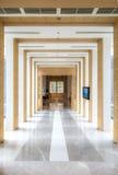 Couloir et décorations Image libre de droits
