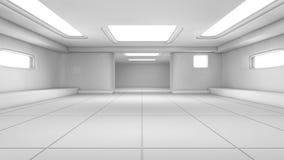 Couloir futuriste Images stock