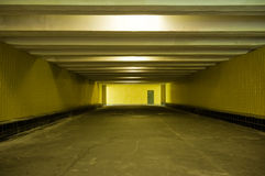 Couloir souterrain Images libres de droits