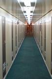 Couloir sur un récipient Photographie stock