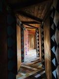 Couloirs de couleurs image libre de droits