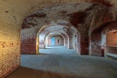 Couloirs de point de fort photographie stock libre de droits