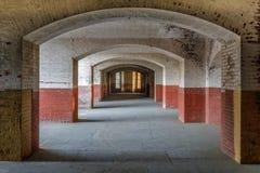 Couloirs de point de fort images libres de droits