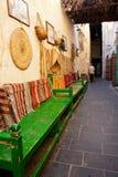 Couloirs intérieurs de Souk Wakif dans Doha Qatar photos stock