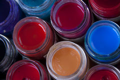 Coulor paint Royalty Free Stock Photography