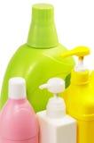 Coulored Plastikflasche Lizenzfreie Stockbilder