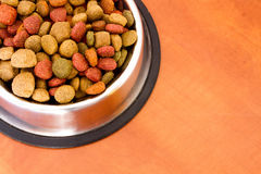 Coulourfull Dog Food Grains Stock Photography