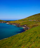 Coumeenole beach and coast of Dingle Peninsula Stock Photos