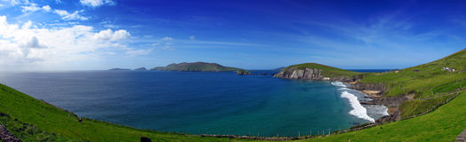 Coumeenole Strand Co. Kerry Irland Stockbilder