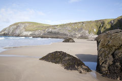 Coumeenoole Beach, Slea Head; Dingle Peninsula. Ireland Stock Photography