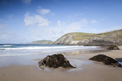 Coumeenoole Beach, Slea Head; Dingle Peninsula Royalty Free Stock Images
