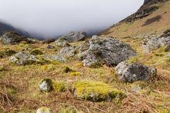 Coumshingaun en Comeraghs Mts Condado Waterford irlanda Fotos de archivo libres de regalías