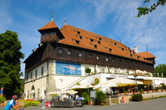 Council building. Of the Konstanz synod in the year 1414. The building is situated at the banks of lake constance. today it is a restaurant. Photo was taken in stock images