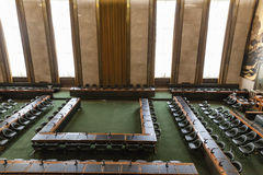Council Chamber in UN Geneva Royalty Free Stock Photography