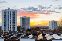 Council estates in London Royalty Free Stock Images