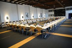 COUNCIL OF EUROPE DELEGATES ARERIVE AT CONFERE Royalty Free Stock Photography