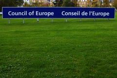 Council of europe - European Council Stock Photos