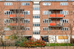 Council flat housing block in East London Stock Photography