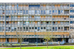 Council flat housing block in East London Stock Images