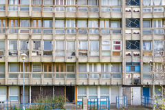 Council flat housing block in East London Royalty Free Stock Photography