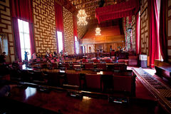 Council Hall of the Stockholm City Hall Royalty Free Stock Photography