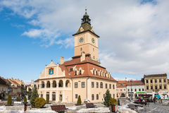 Council House Of Brasov City Royalty Free Stock Photography