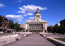 The Council House, Nottingham. royalty free stock image