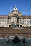 Council House and The River Fountain, Birmingham Royalty Free Stock Photography