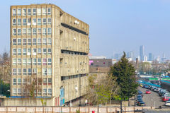 Council housing block in East London Stock Photo