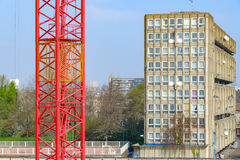 Council housing block in East London Stock Photos