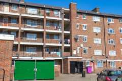 Council housing block in London Royalty Free Stock Image