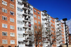 Council housing. Public council housing apartments in London, England, UK Stock Photos