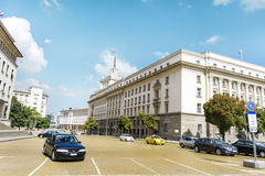 The Council of Ministers building in central Sofia Royalty Free Stock Image