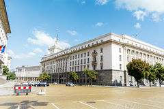 The Council of Ministers building in central Sofia Royalty Free Stock Photos