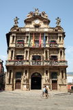 Council of Pamplona in Navarre Stock Photos