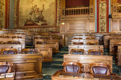 The council of Paris. Stock Photo