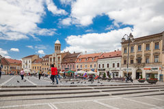 The Council Square royalty free stock images