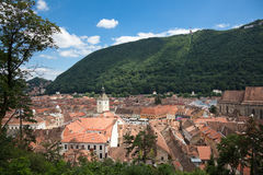 The Council Square in Brasov Stock Images
