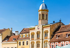 Council Square  in Brasov Stock Image
