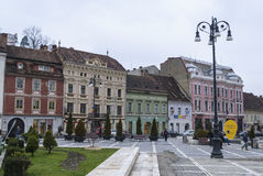 Council Square of Brasov Stock Image